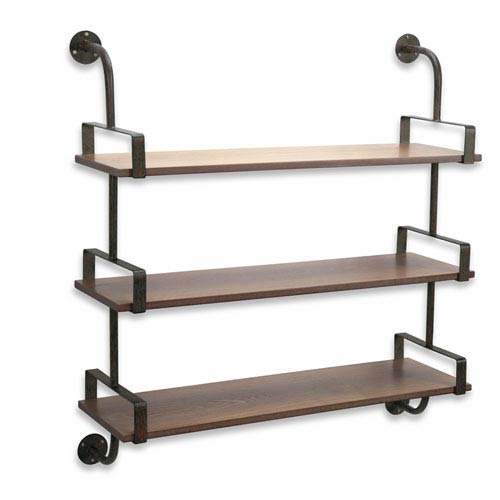 Triple Shelf Wall Rack
