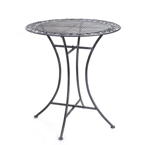 Gray Bistro Table