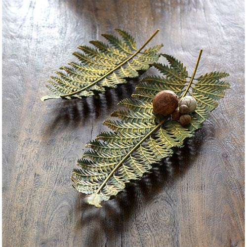 Fern Trays, Set of Two