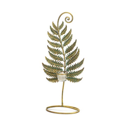 Standing Fern with Votive Cup, Set of Two
