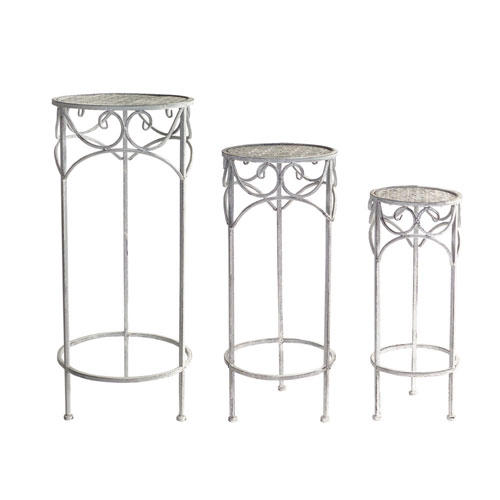 Plant Stands, Set of Three