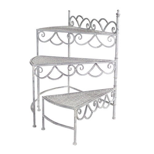 Melrose International Stair Plant Stand