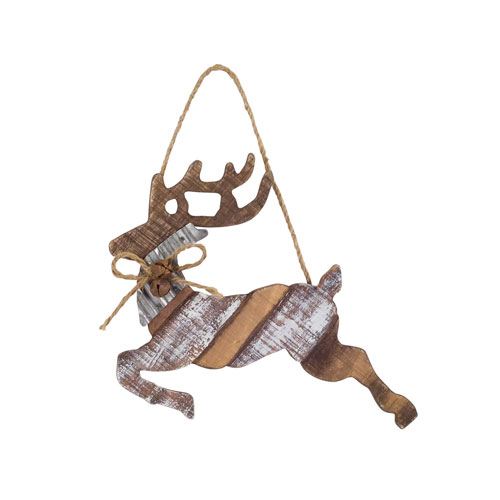 Deer Ornament, Set of Four