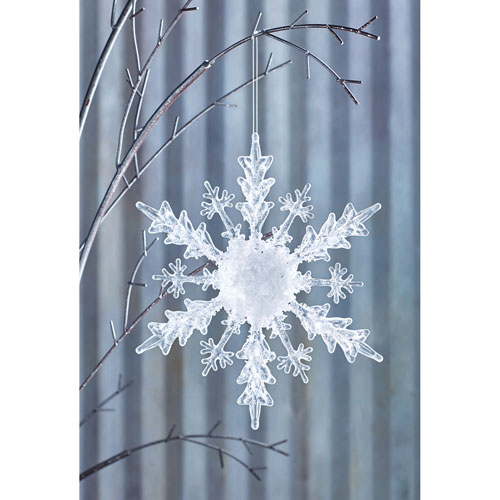 Snowflake Ornament, Set of Four