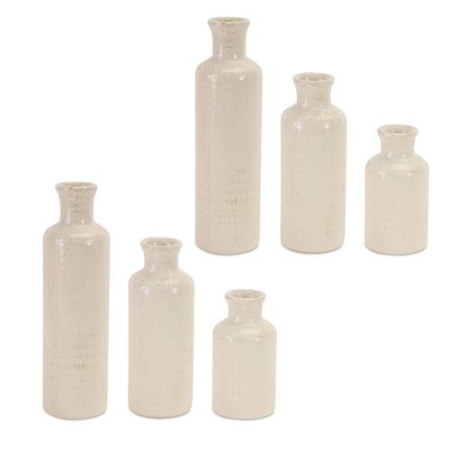 Melrose International Cream Bottles, Set of Six