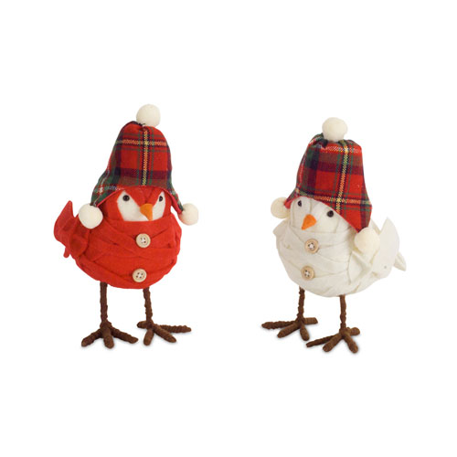 Bird with Hat, Set of Six