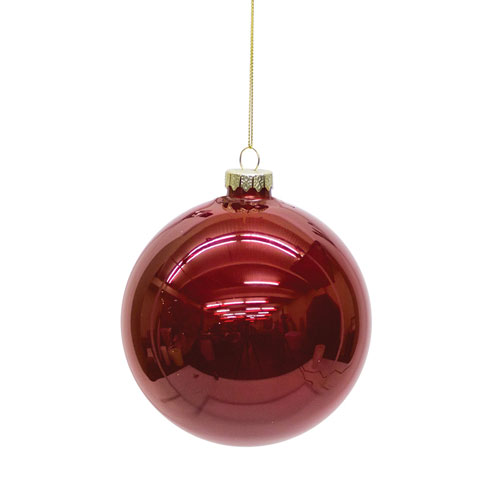 Shiny Ball Ornament, Set of Six