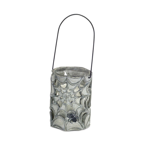 Spider Web Candle Holder, Set of Two