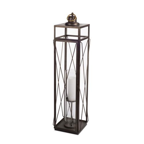 Antique Gold Tall Lantern
