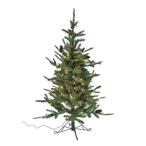 Pine 4.5 Ft. Tree Pre-Lit with 150 Warm Lights
