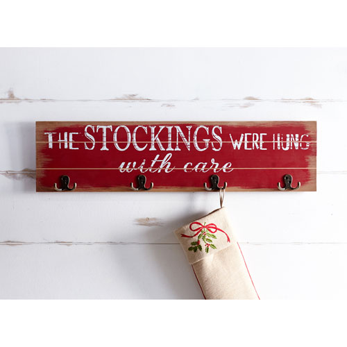Stockings Sign, Set of Two