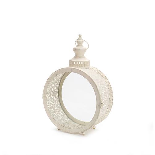 Cream 17-Inch Lantern