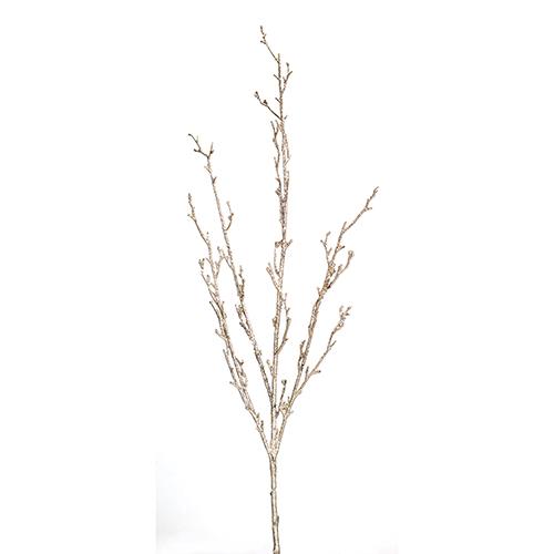 Gold Glitter Branch, Set of 12