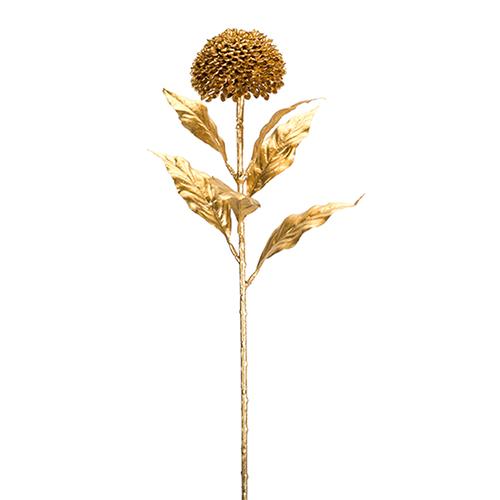 Gold Allium 27 In. Stem, Set of 12