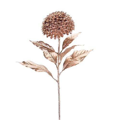 Rose Gold Allium 27.5 In. Stem, Set of 12