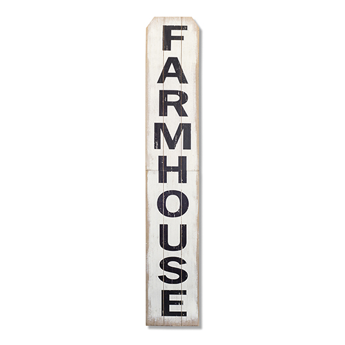 Black and White Farmhouse Sign