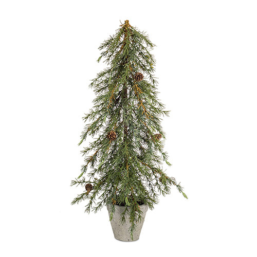 Potted 29 In. Pine Tree, Set of Two
