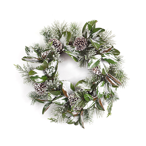 Iced Pine 25 In. Wreath