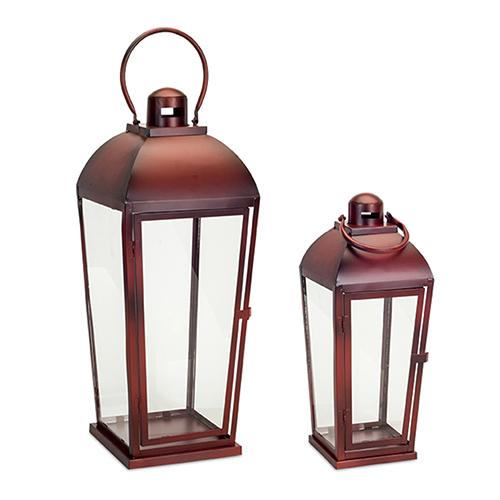 Red Lantern, Set of Two