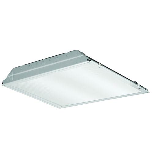 2GTL2 A12 120 LP840 2 ft x 2 ft White LED Lay-In Troffer with Prismatic Lens 4000K