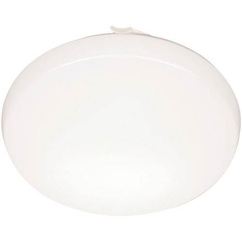 FMLRDL 14 21840 M4 14 in. White LED Low Profile Residential Round Flush Mount