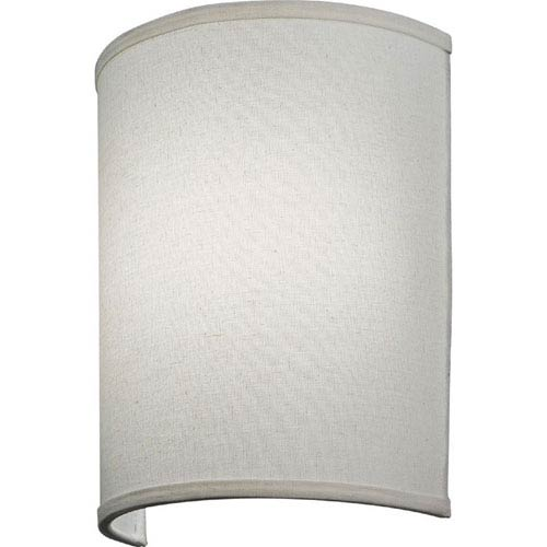 FMABSL 11 7830 F21 M4 Aberdale 11 in. LED Tan Linen Wall Sconce 3000K
