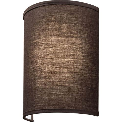 FMABSL 11 7840 F20 M4 Aberdale 11 in. LED Brown Linen Wall Sconce 4000K