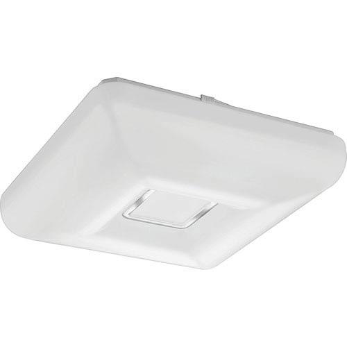 Lithonia Lighting FMKMSL 14 20830 KR M4 Kamino 14-Inch Square LED White and Chrome Flush Mount 3000K