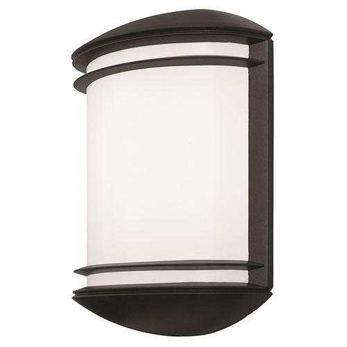 Bronze Outdoor Integrated LED Wall Mount Sconce