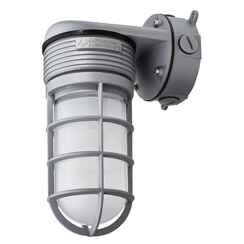 LED Glass Vapor Tight Wall Mount, 15W
