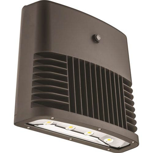 Lithonia Lighting OLWX2 LED 90W 40K 120 PE DDB M2 Bronze Outdoor LED Low Profile Wall Pack
