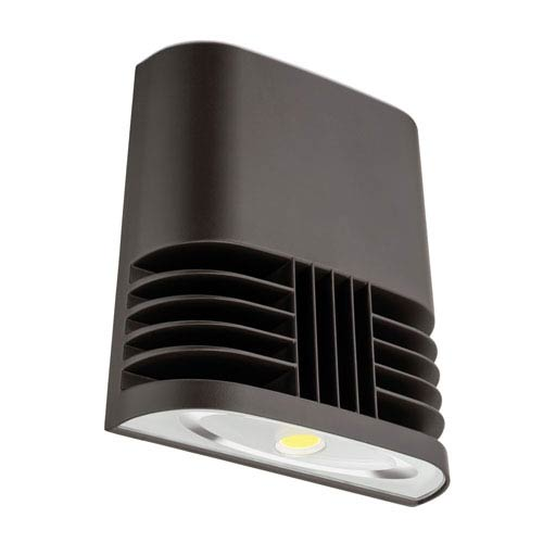 OLWX1 LED 20W 50K M4 Low Profile Bronze Outdoor LED Wall Pack