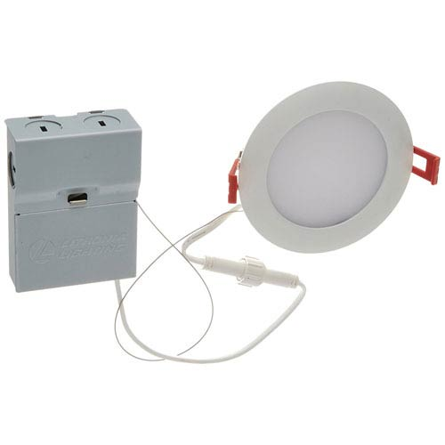 9.6W Ultra Thin 4-Inch Dimmable Recessed Ceiling Light 3000K White