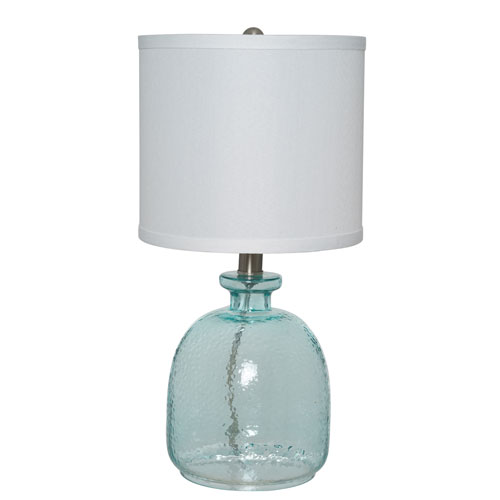 Catalina Lighting Blue 17-Inch One-Light Table Lamp
