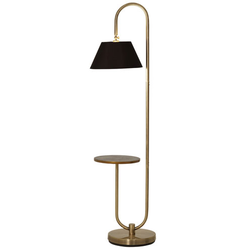 Tucker Brushed Brass LED Floor Lamp
