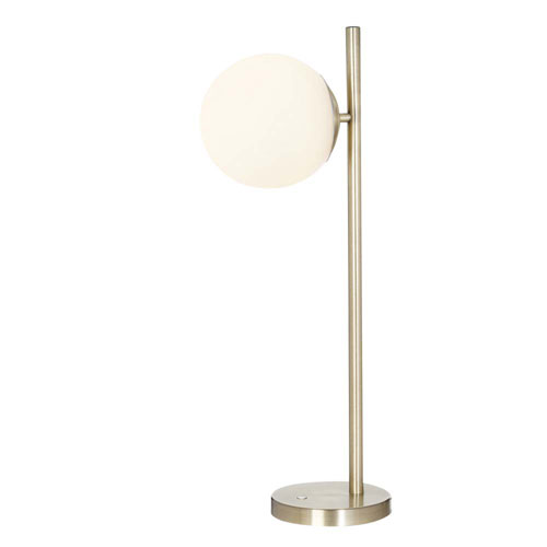 Carson Brushed Brass LED Table Lamp