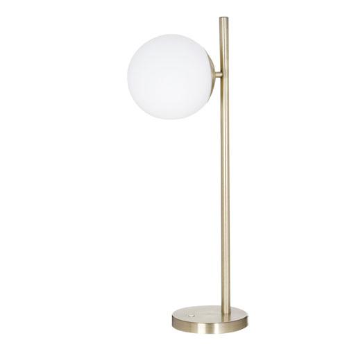 Carson Brushed Brass LED Floor Lamp