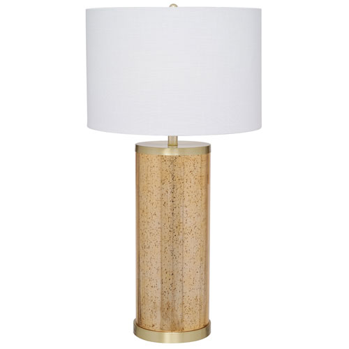 Catalina Lighting Quinn Painted Gold LED Table Lamp