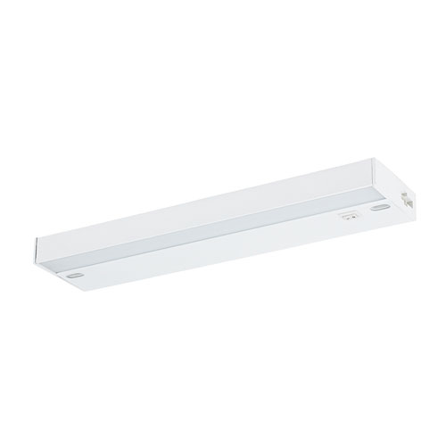 Catalina Lighting Ellumi White 12-Inch LED Antibacterial Undercabinet Light