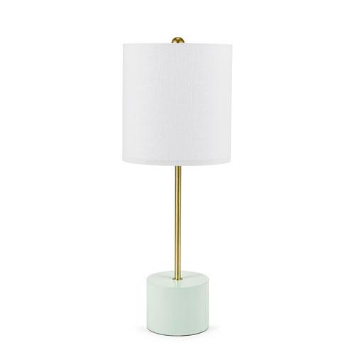 Elemental Powder Green Stick Table Lamp