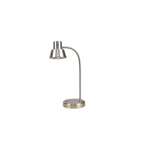 Tensor Brushed Nickel LED 13-Inch One-Light Desk Lamp