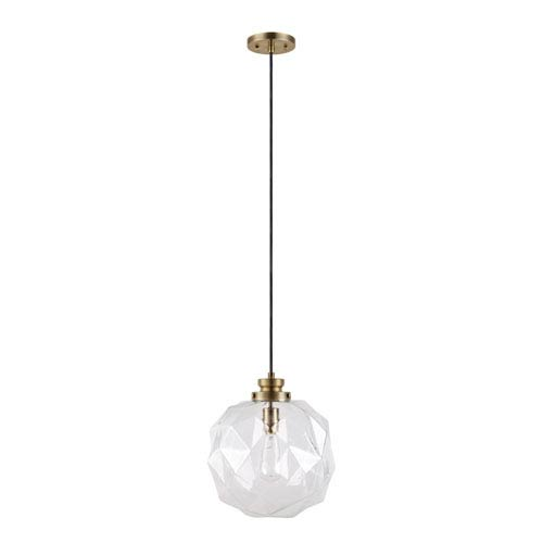 Rockford Clear One-Light Pendant