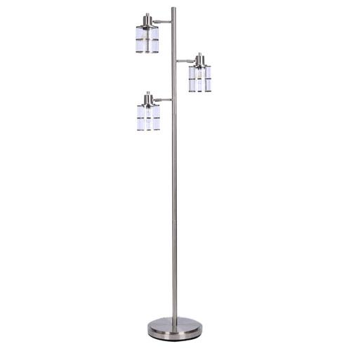 Brushed Nickel 14-Inch LED Floor Lamp