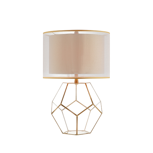 Kenzie Antique Brass One-Light Table Lamp