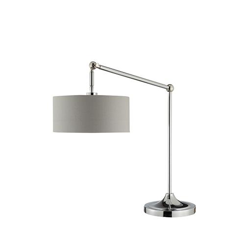 Catalina Lighting Levi Chrome One-Light Table Lamp