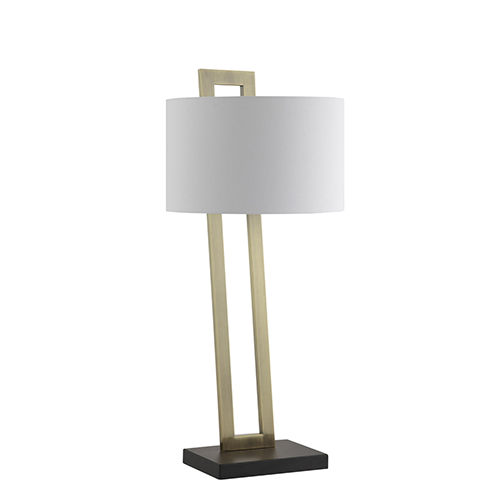Catalina Lighting Carter Br And Black One Light Table Lamp