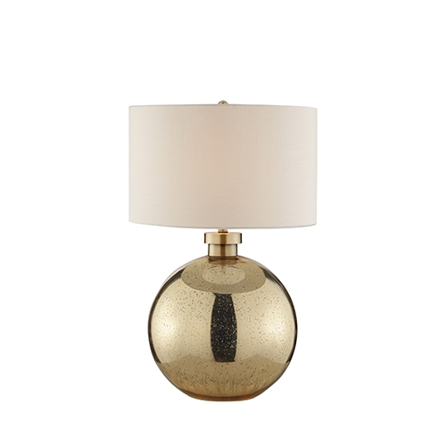 Catalina Lighting Mila Antique Gold One-Light Table Lamp