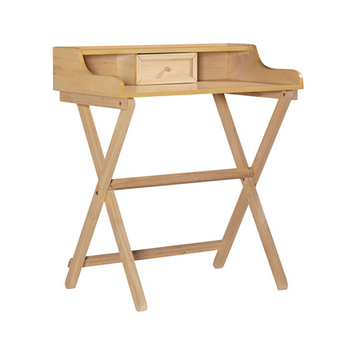 Leilani Natural Folding Desk