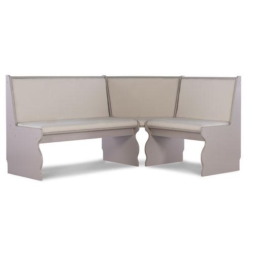 Adrian Grey 66-Inch Nook Table Set