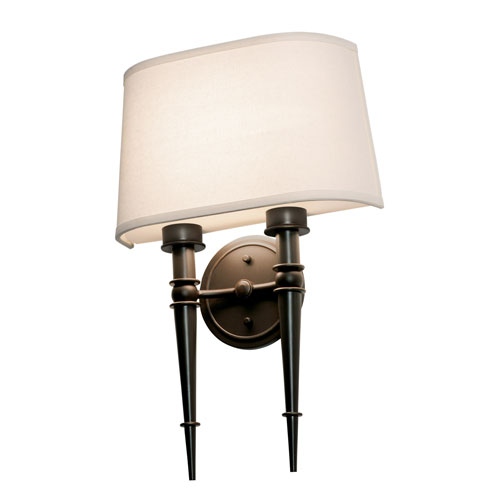 Montrose Oil-Rubbed Bronze Two-Light LED Wall Sconce